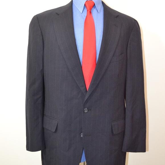 Jos. A. Bank Other - Jos A Bank 44R Sport Coat Blazer Suit Jacket Navy